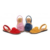 Sandale din piele naturala , Avarca KNIT
