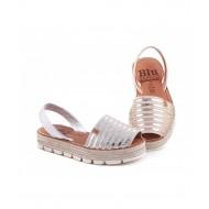 Sandale din piele naturala AVARCA LINE