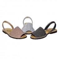 Sandale din piele naturala AVARCA GRITTY
