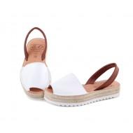 Sandale din piele naturala , Avarca Brown