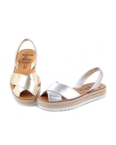 Sandale din piele naturala, AVARCA GLAM
