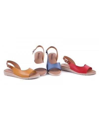 Sandale din piele naturala CasieBlu