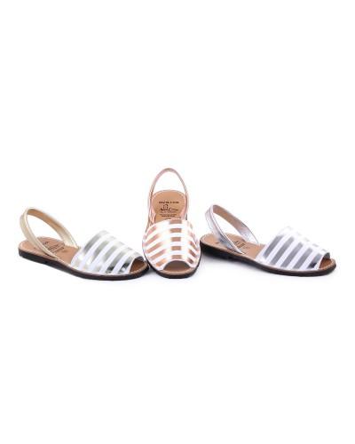Sandale din piele naturala , Avarca Raya