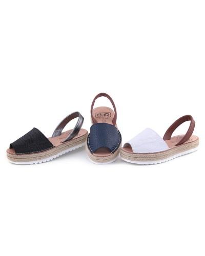 Sandale din piele naturala Avarca Snake