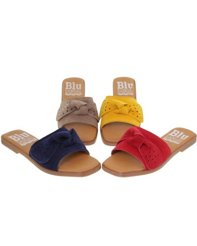 Papuci din piele BETTY