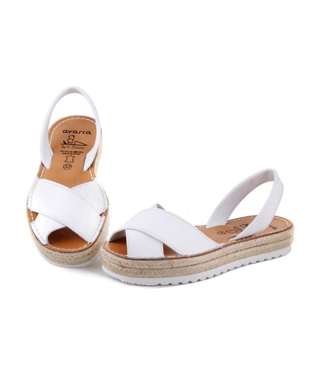 Sandale Sandale Piele Piele Din NaturalaAvarca NaturalaAvarca Blanca Din BEQdrxoeWC