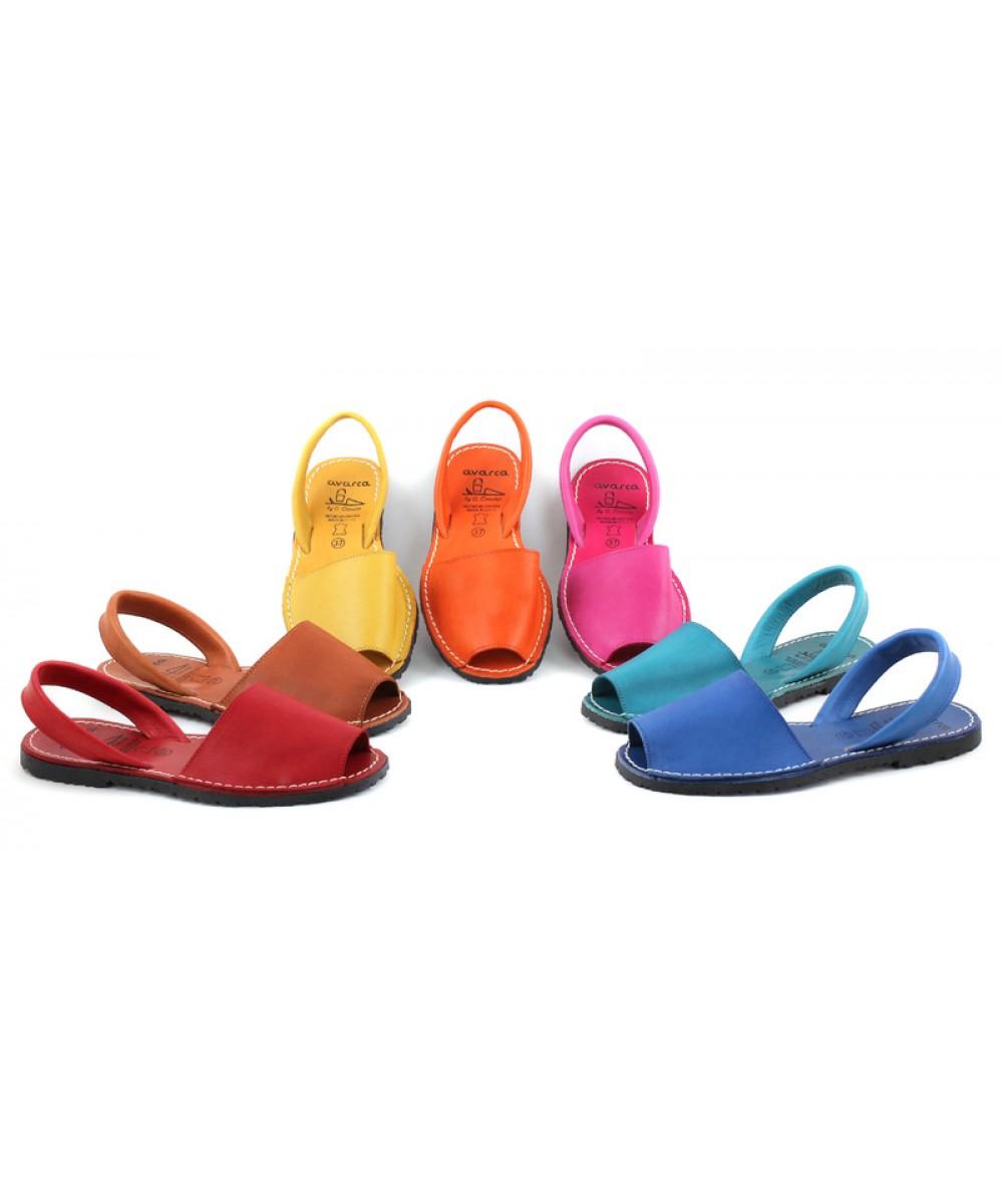 Colorate Naturala Sandale Din AvarcaClasic Piele 4Aqjc35LR